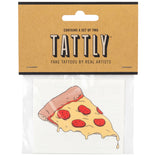 Pizza Slice Temporary Tattoos