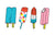 Popsicle Temporary Tattoos