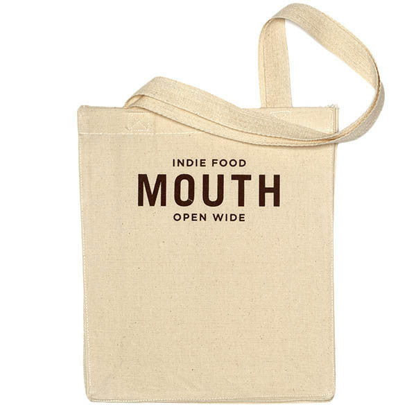 Mouth Small Tote Bag