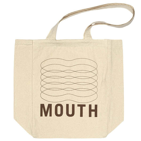Mouth Tall Boxy Tote Bag