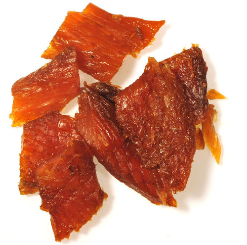 Peppered King Salmon Jerky