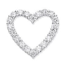 Load image into Gallery viewer, Pobjoy Diamonds Gold 1.00 CTW Diamond Heart Pendant