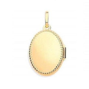 9K Yellow Gold Ladies Locket