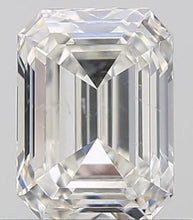 Load image into Gallery viewer, 950 Platinum Emerald Cut Solitaire Ring With Side Baguettes 0.90 CTW- G/Si1 - Pobjoy Diamonds