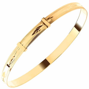 Gold Expandable Bracelet