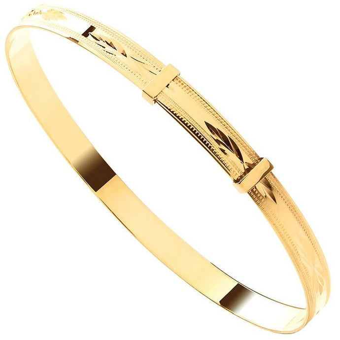 Gold Expandable Bracelet - Pobjoy Diamonds