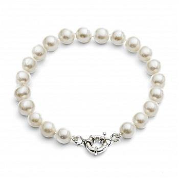 Freshwater Pearl Single Strand Bracelet - Pobjoy Diamonds