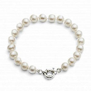 Freshwater Cultured Pearl Ladies Bracelet 8-10mm - Pobjoy Diamonds
