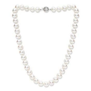 Large  Freshwater Cultured Pearl Necklace - Pobjoy Diamonds