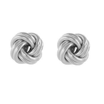 925 sterling silver gents knot style cufflinks from Pobjoy