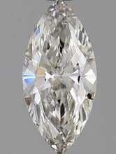 Load image into Gallery viewer, 950 Platinum Marquise Cut 0.50 Carat Lab Grown Diamond Ring - F/VS2 - Pobjoy Diamonds