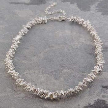 Load image into Gallery viewer, Handmade Silver Ladies Coral Style Necklace - Pobjoy Diamonds