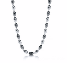 Load image into Gallery viewer, Silver & Ruthenium Bead Necklace - Pobjoy Diamonds