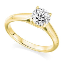 Load image into Gallery viewer, 18K Yellow Gold 1.50 Carat Solitaire Diamond Ring F/VS2 - Avignon