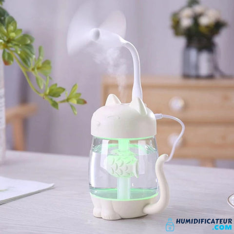 Humidificateur d'Air Bébé - Petit Chaton - Ventilateur