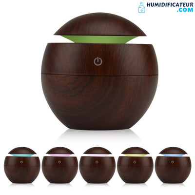 Humidificateur d'air Chambre 6 Couleurs LED