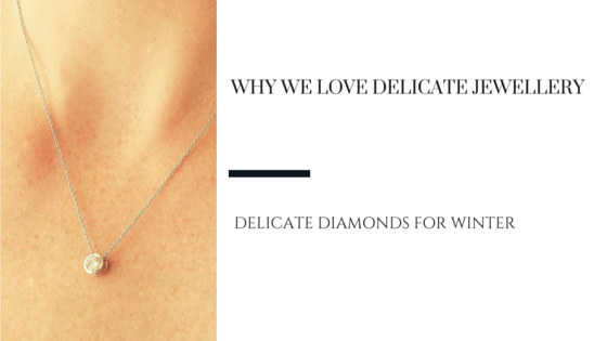 Delicate Diamond Jewellery