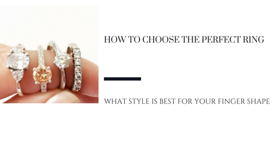 How To Choose The Right Engagement Ring Style For Your Finger Shape