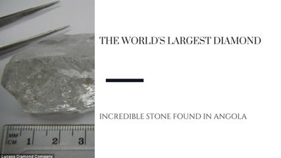 The Largest Diamond Ever Found in Angola
