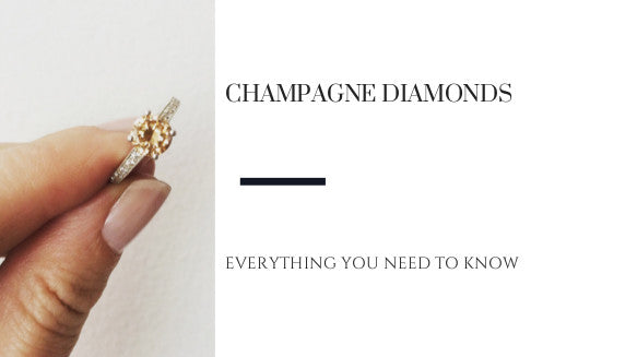 Everything You Need to Know About Champagne Diamonds