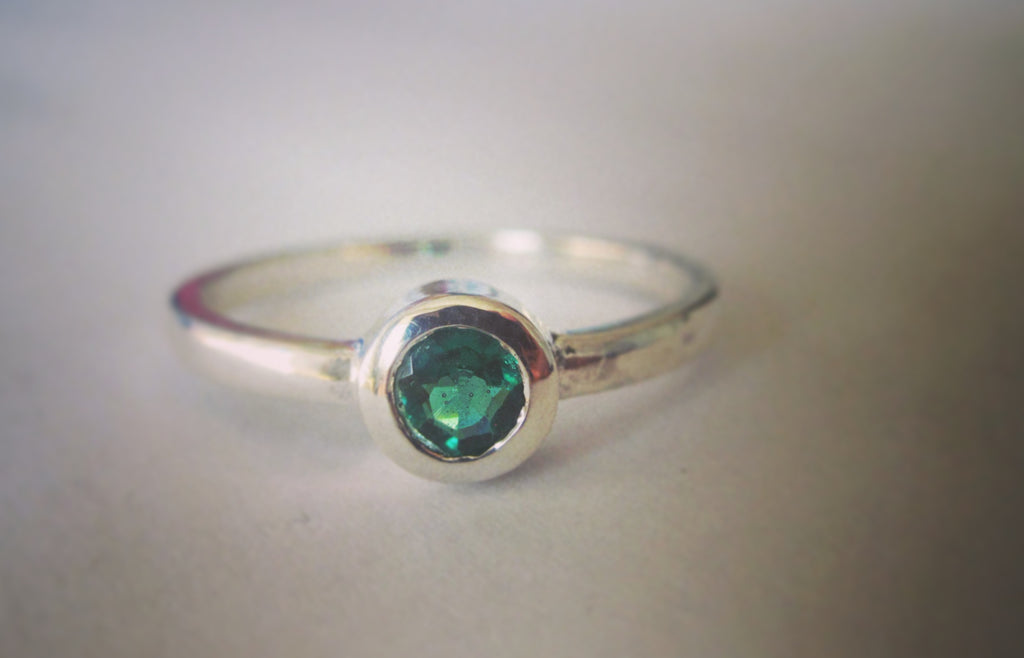 The Beautiful Emerald Ring