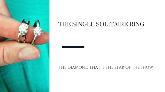 The Single Solitaire Engagement Ring