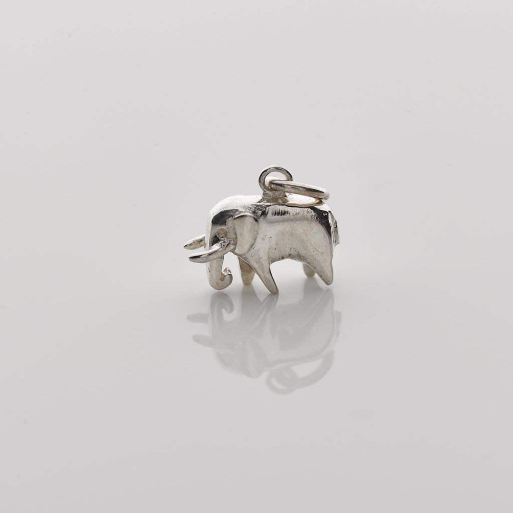 Sterling Silver Mini Elephant Pendant