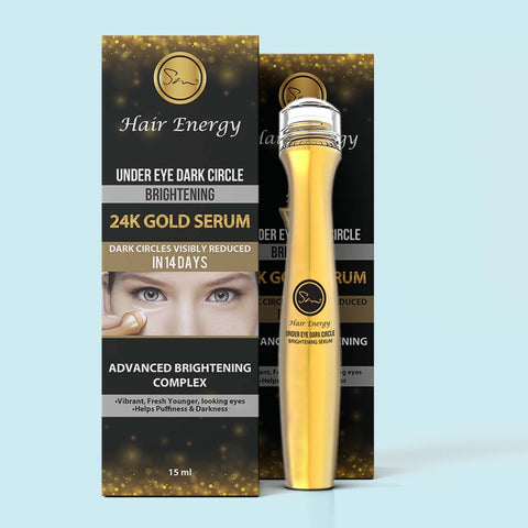 UNDER EYE DARK CIRCLE BRIGHTENING 24K GOLD SERUM