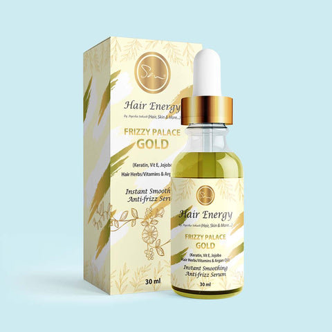 Frizzy Palace Gold - Hair Serum
