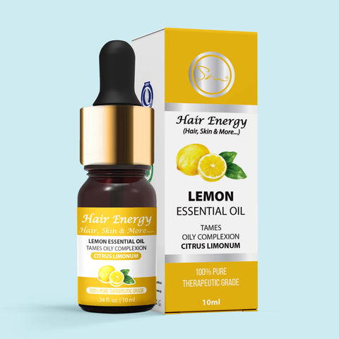 LEMON ESSENTIAL OIL (Citrus × limon)