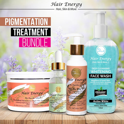 PIGMENTATION TREATMENT BUNDLE  (MINIMIZE THE LOOK OF BROWN SPOTS & DARK MARKS)