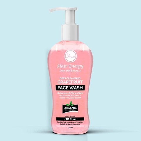 Deep Cleansing Grapefruit Face Wash (FOR OILY SKIN,ACNE ,BLACKKHEADS )
