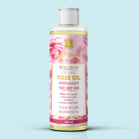BULGARIAN ORGANIC ROSE OIL