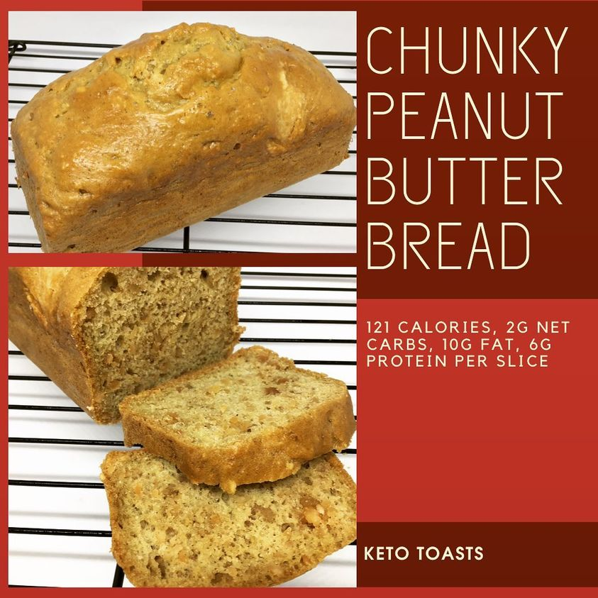 Chunky Peanut Butter Bread
