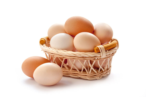 Organic Eggs from Free-Range Hens (30pcs)