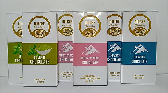 Natural Dulche Chocolates 55gms