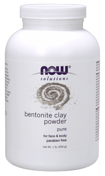Now solutions Masques à l'Argile Bentonite pour Corps 454 g - Wellnessmaroc