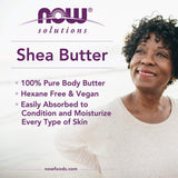 Now solutions Beurre de Karité- Shea Butter  207 ml - Wellnessmaroc