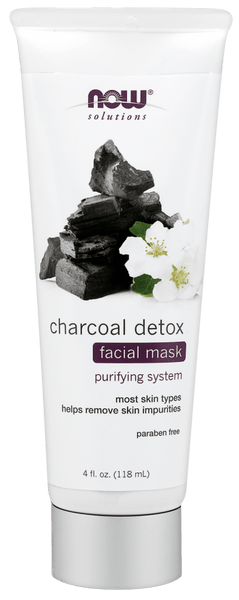 Now solutions Masque Purifiant Détoxifiant au Charbon - Wellnessmaroc