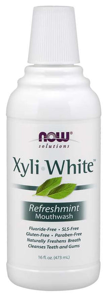 Now solutions Bain de Bouche Naturel XyliWhite™ - Wellnessmaroc