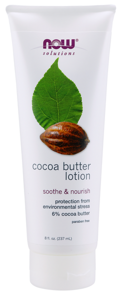 Now solutions Lotion Hydratant Visage au Beurre de Cacao - Wellnessmaroc