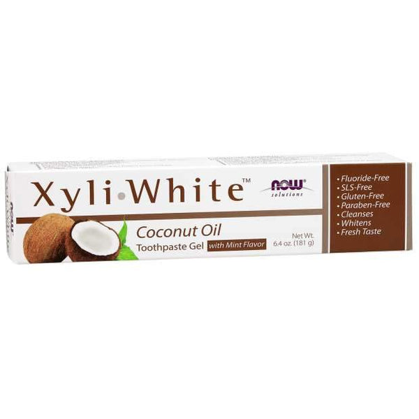 Now solutions Dentifrice Naturel à l'huile de coco XyliWhite ™ - Wellnessmaroc