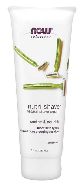 Now solutions Crème De Rasage Naturelle  Nutri-Shave ™ - Wellnessmaroc
