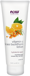 Now solutions Lotion Hydratant Vitamine C et à l'Argousier 237 ml - Wellnessmaroc
