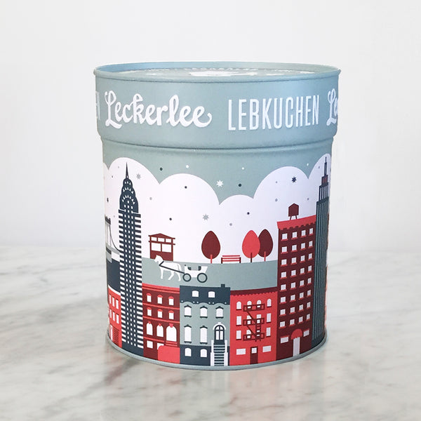 NYC Skyline Tin