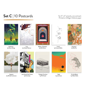 Set C | Assorted Postcards