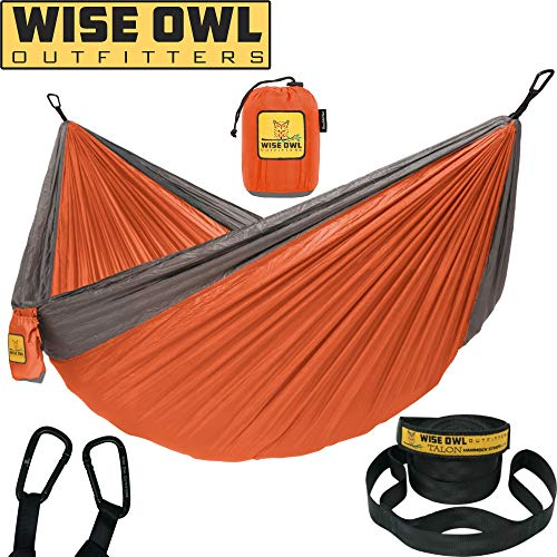 Wise Owl Outfitters Hammock Double & Single with Tree Straps