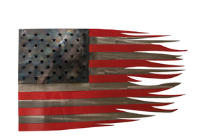 Metal Flag Wall Art