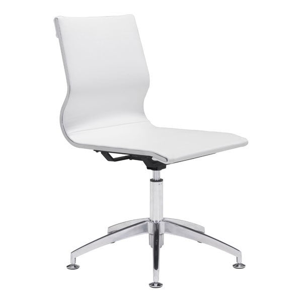 Zuo Glider Conference Chair White