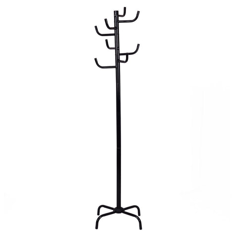 Metal Coat Hat Rack Clothes Hanger Tree Stand